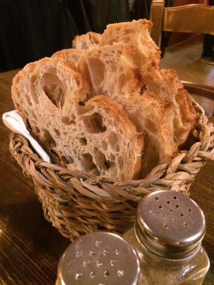 Trattoria Pennestri, il pane