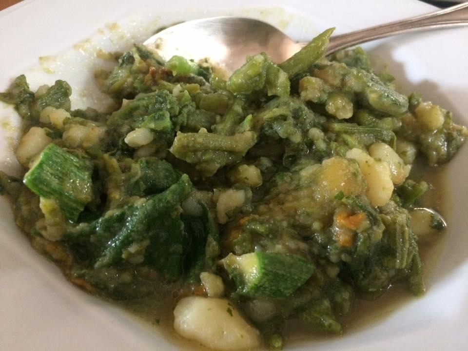 Zuppa di tenerumi e patate