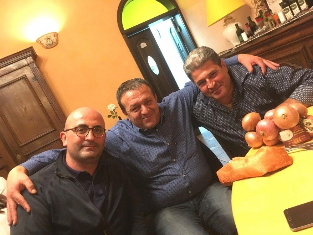 da sx Gerardo Marrazzo, Mario Laurino e Salvatore Montone