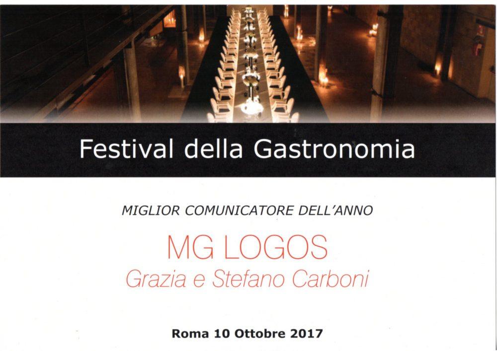 Festival della gastronomia - premio