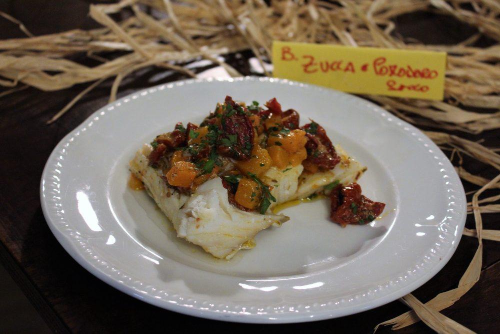 La Baccaliata III – baccala' d'autunno, con zucca e pomodori secchi