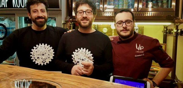 Lilo Libero Locale, da sinistra Antonio Esposito, Daniel Esposito e Tony Granieri