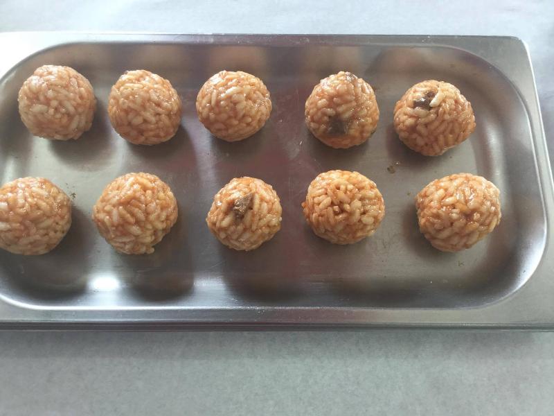 Arancine di riso dei Monzu'
