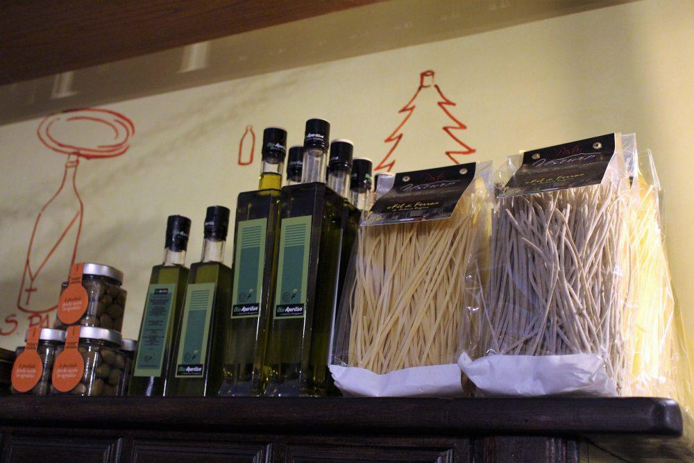 La Baccaliata III – alcuni prodotti classici e l'Olio Aperitivo