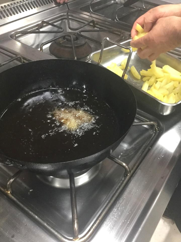 Patatine fritte a stick