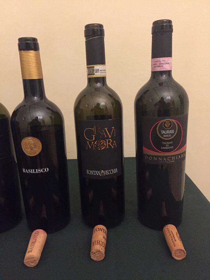 Aglianico Donnachiara, Basilisco e Fontanafredda