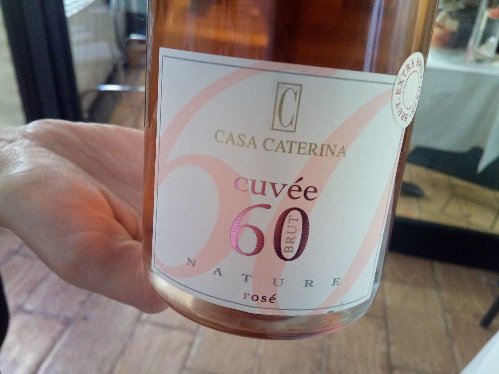 Casa Caterina, Cuvee 60 Brut Nature Rose 2011