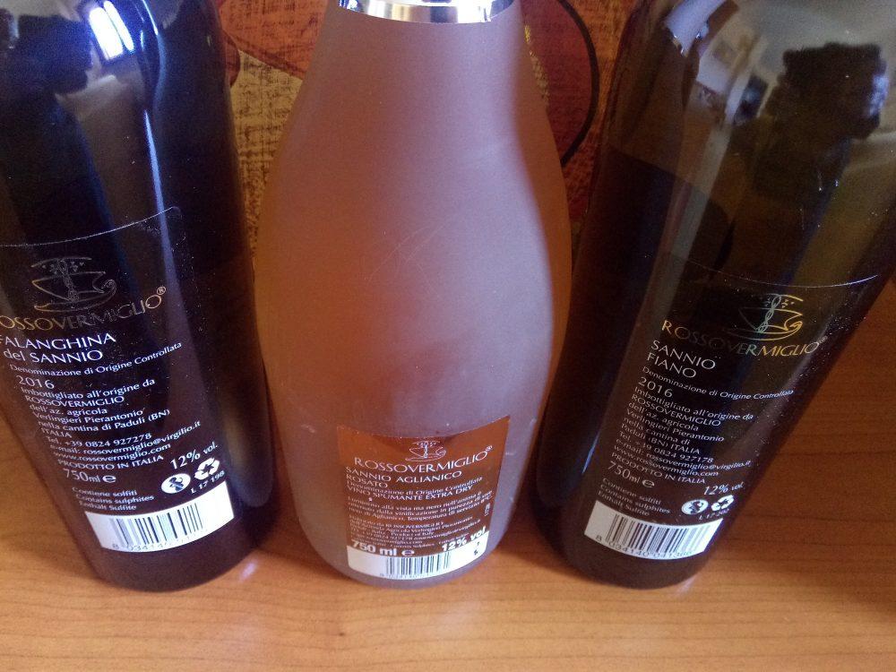 Controetichette Vini di Rossovermiglio