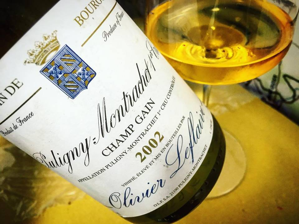 Domaine Olivier Leflaive Puligny-Montrachet 2002