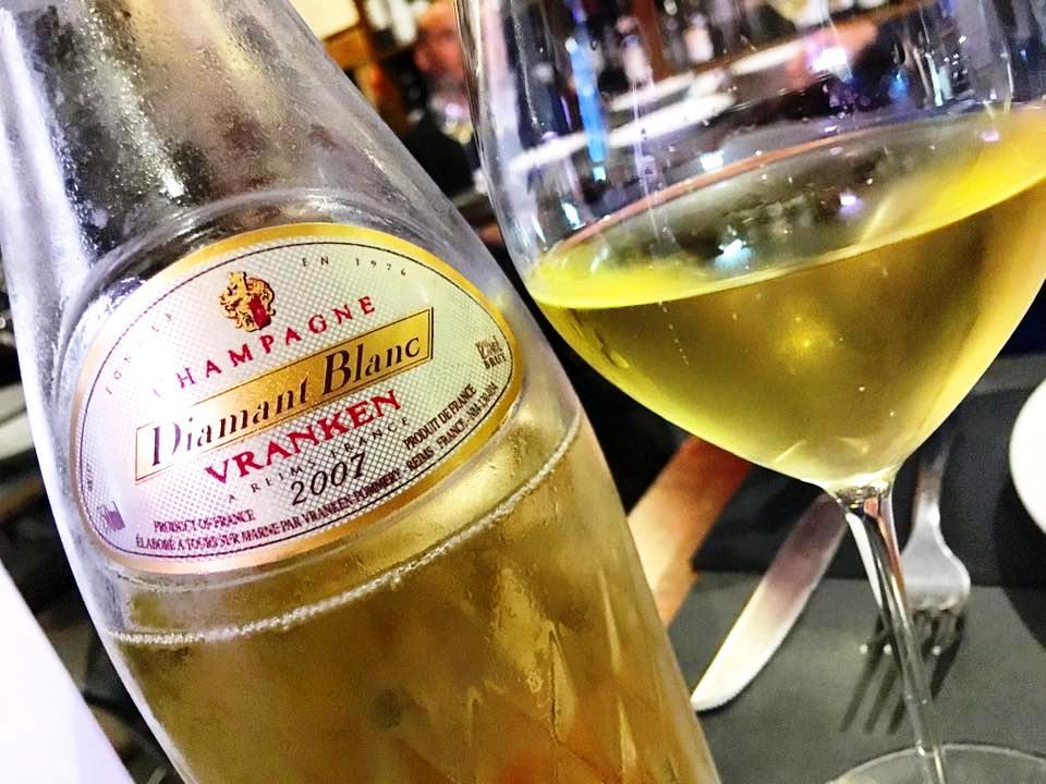 La Salsamenteria - Il Mio Champagne Per La Sera, Vranken Pommery Cuvee Diamant 2007