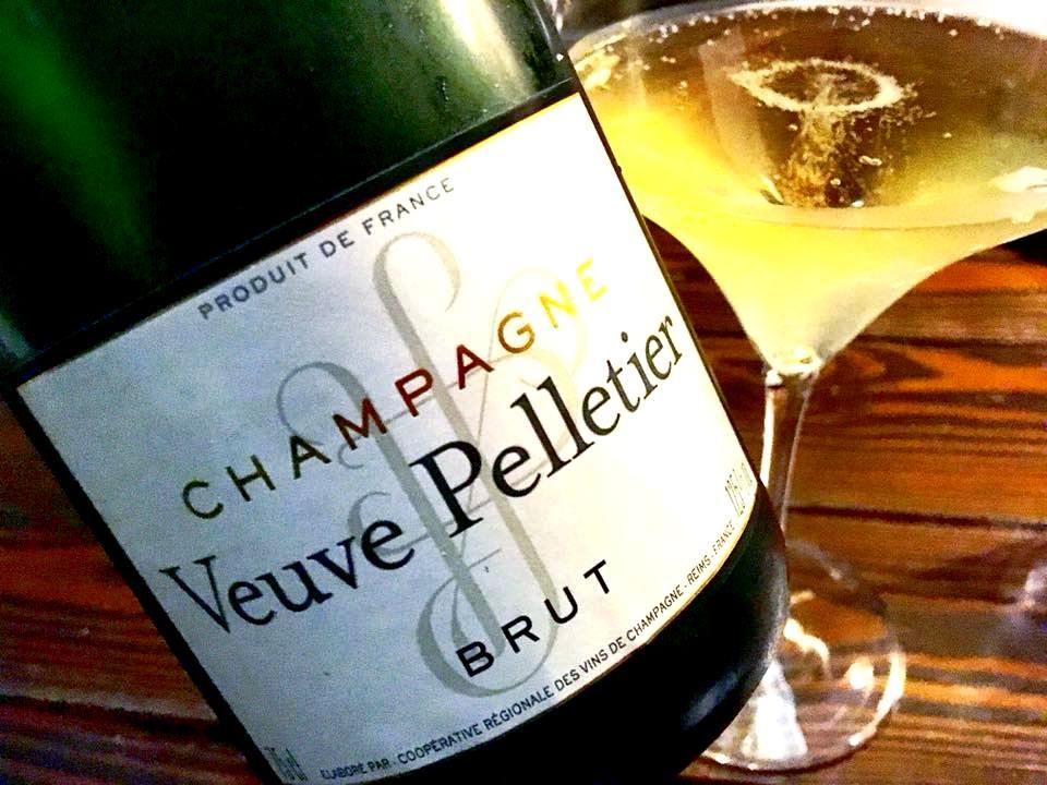 Meatin, Champagne Veuve Pelletier Brut
