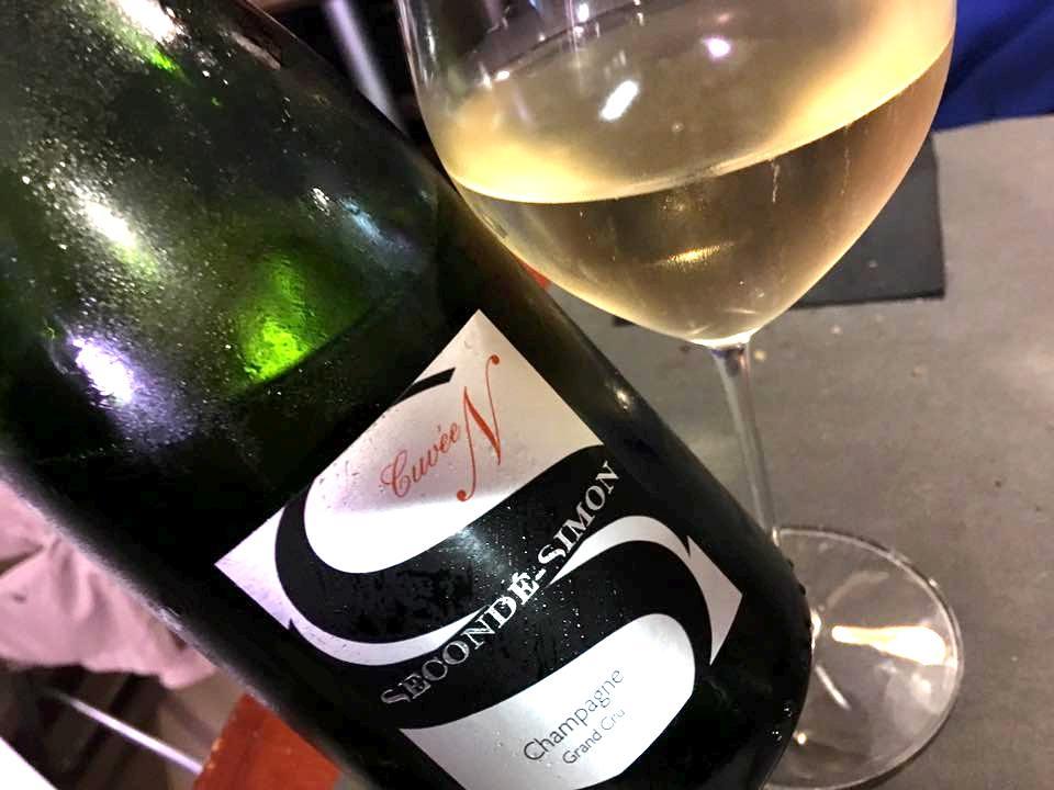 La Salsamenteria, Champagne Grand Cru Seconde'-Simon Cuvee N