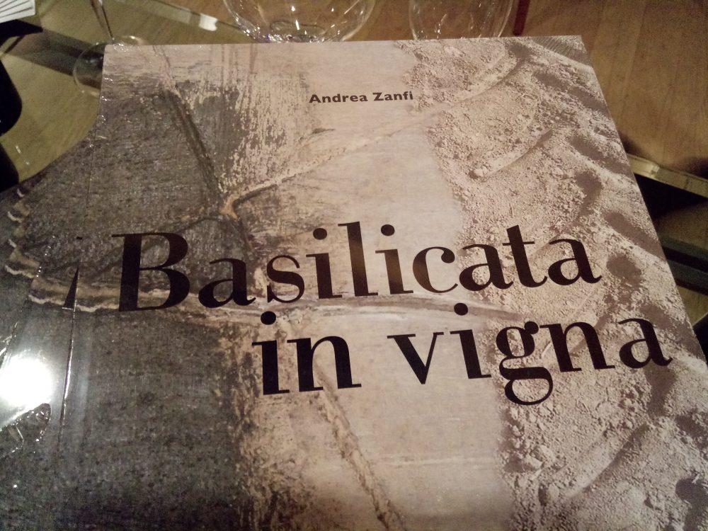 Four Seasons Hotel Milano, Libro di Andrea Zanfi Basilicata in Vigna