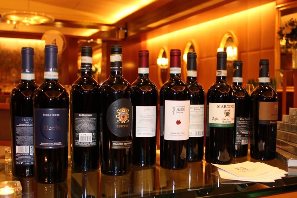 Four Seasons Hotel Milano - Vini produttori della Lucania