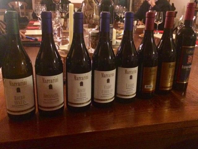 I vini dell'Azienda Marcarini
