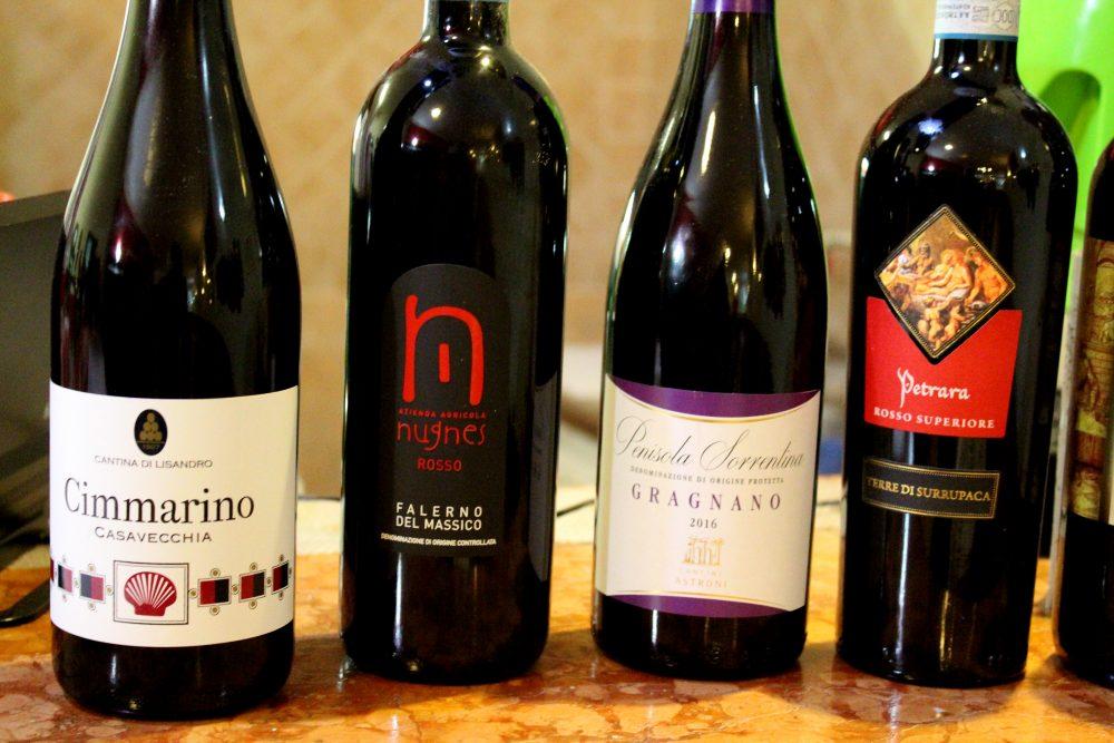 Il Ritrovo dei Golosi – tipologie di vini proposti