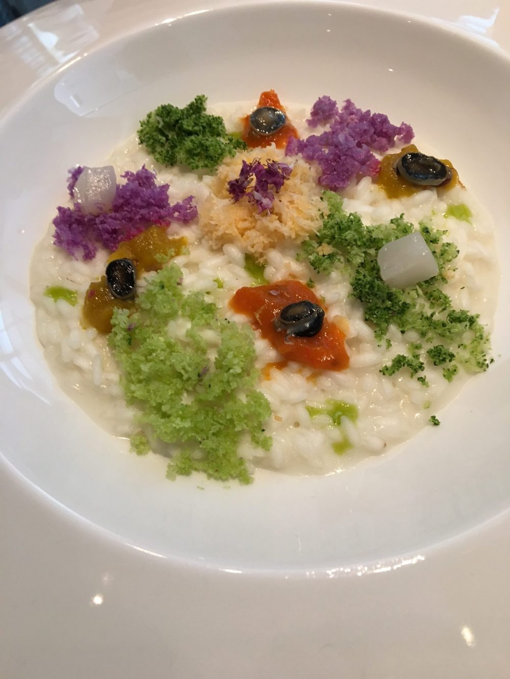 In The Kitchen Tour - Riso buono con lattica di bufala, cavolo, padelle e capesante- chef Antonella Rossi