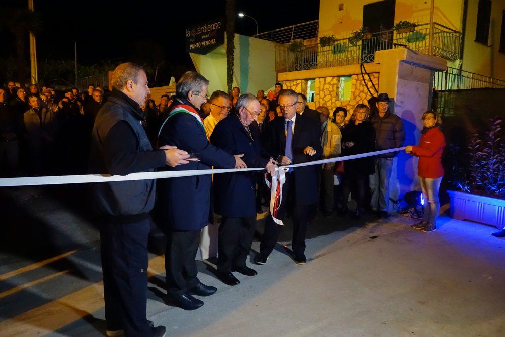 Inaugurazione nuovo punto vendita La Guardiense
