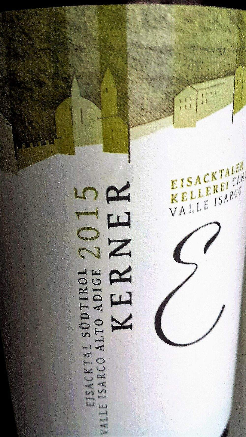 Kerner 2015, Cantina Valle Isarco