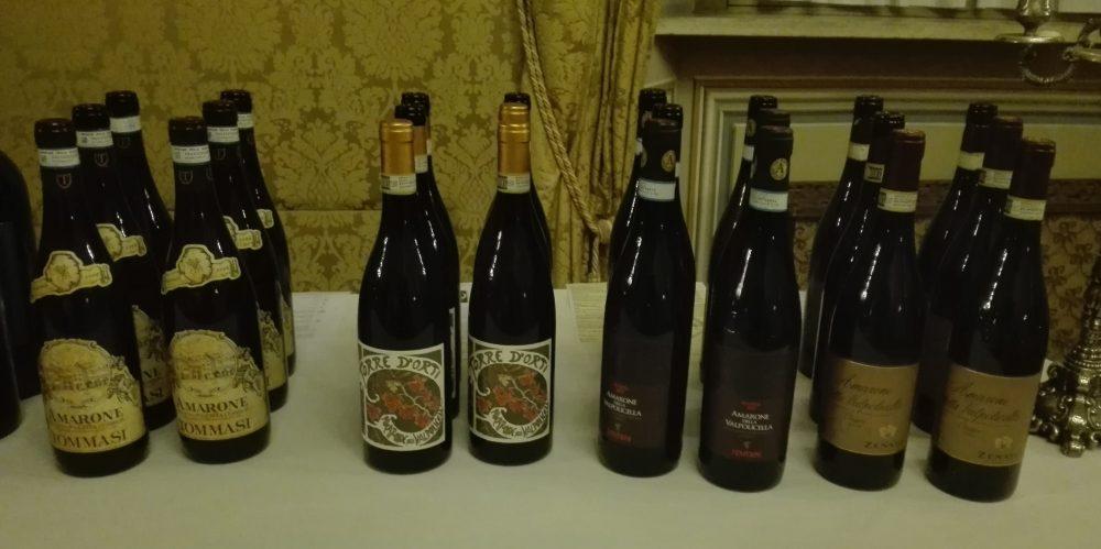 L'Amarone delle Famiglie d'Arte - Bottiglie