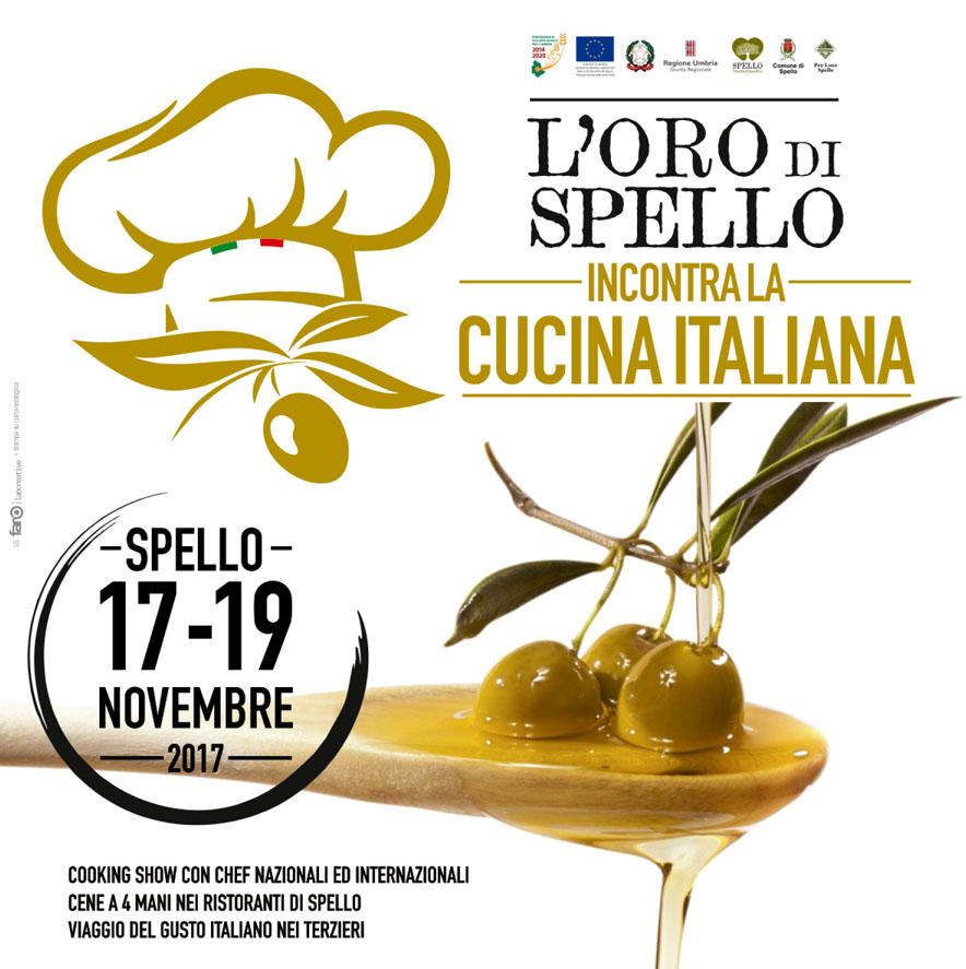 L'Oro di Spello incontra la cucina italiana