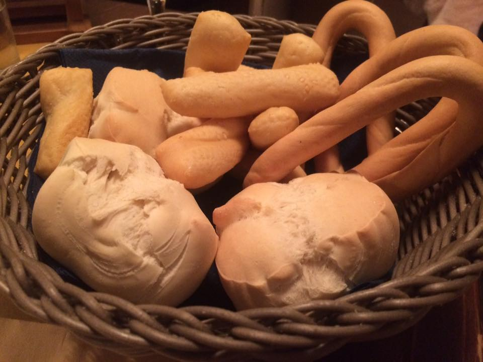 La Bitta, pane e grissini