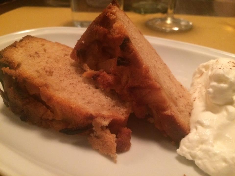 La Bitta, torta di mele e cannella