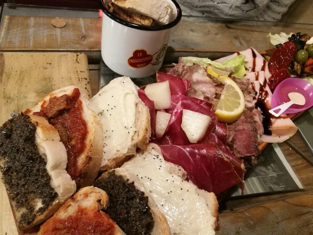 La Prosciutteria Napoli - Tagliere aperitivo