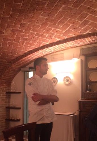 Lo Chef della Locanda del Pilone Federico Gallo