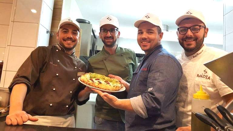 Madia, da sinistra Francesco Miranda, Daniele Ferrara, Raffaele Bonetta e Marco Cianatiempo