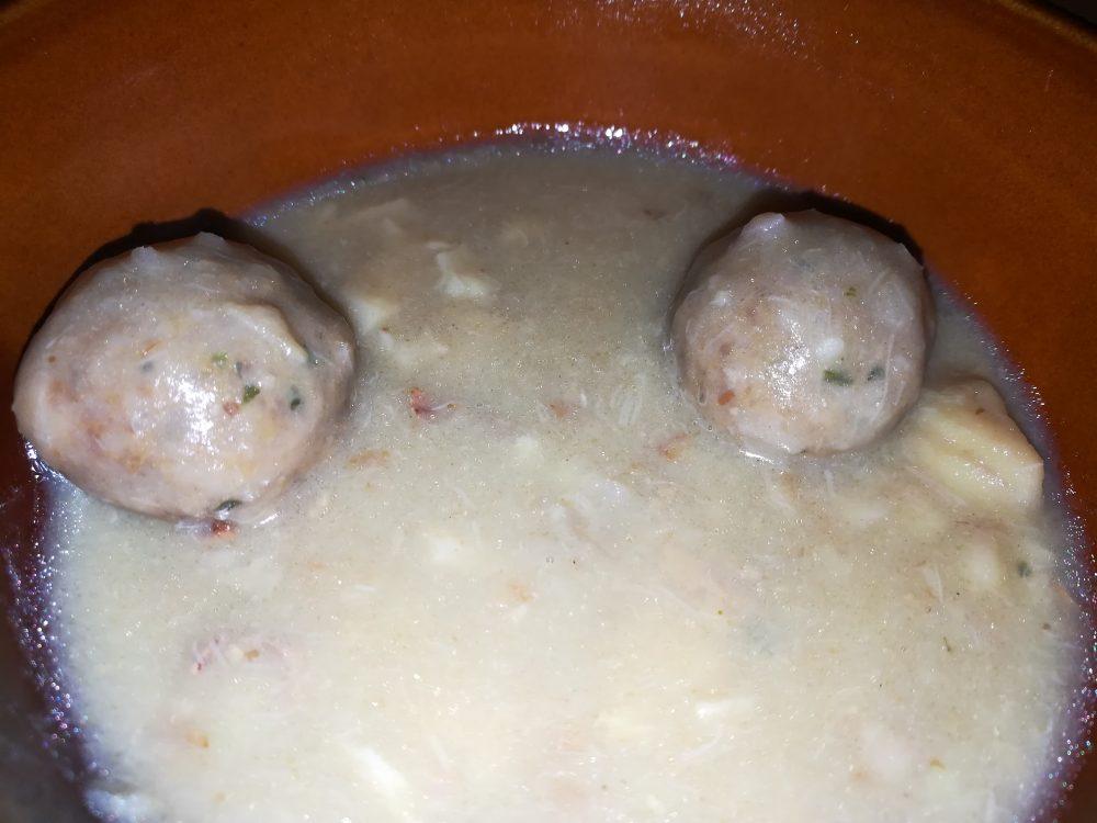 Masseria il Soffio - Le Polpettine con sughetto Castagne e Porcini