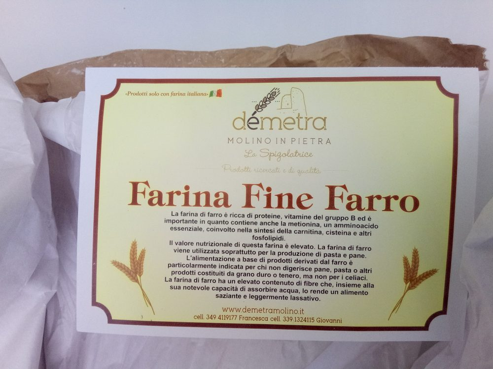 Molino Demetra, Farina Fine Farro