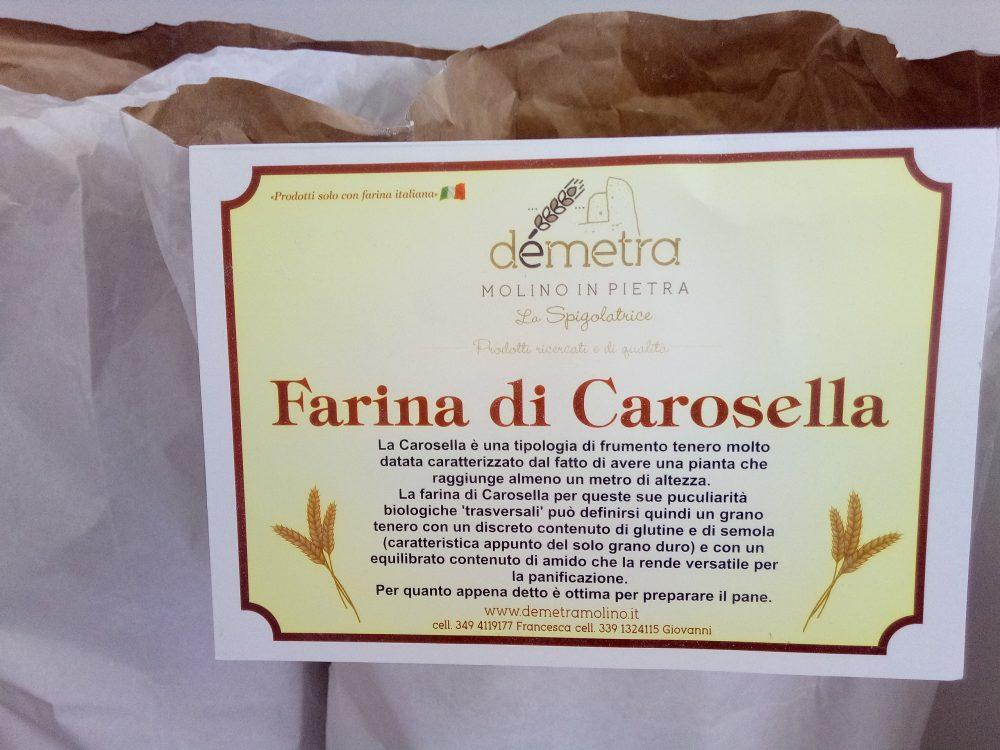 Molino Demetra, Farina di Carosella