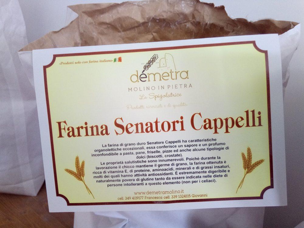 Molino Demetra, Farina di Senatore Cappelli