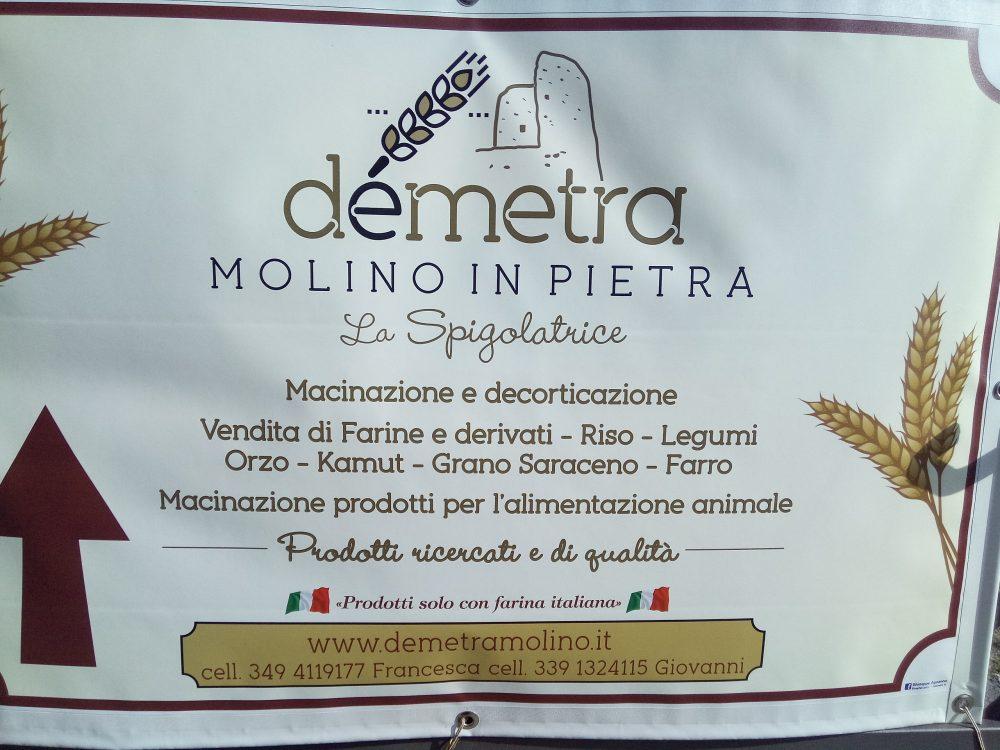 Molino Demetra, Locandina aziendale
