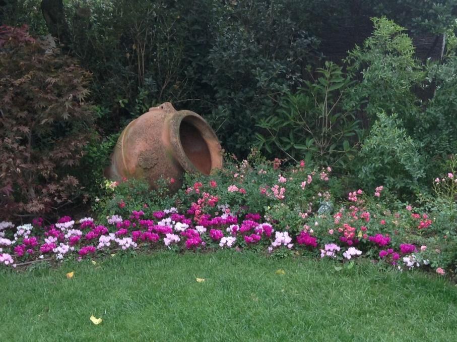 Nadia, Erbusco, giardino