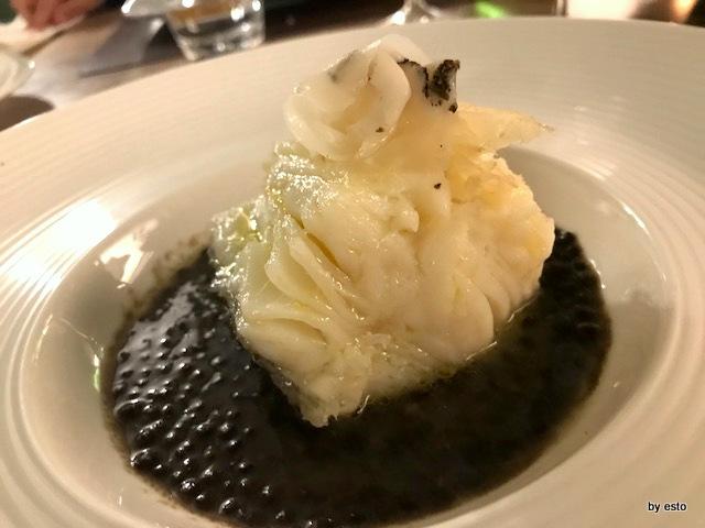 Nostrum baccalà con lenticchie beluga