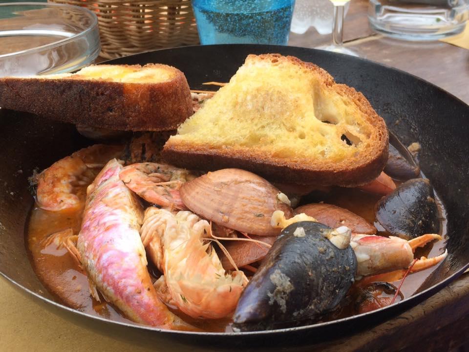 Paradiso Perduto, zuppa di pesce