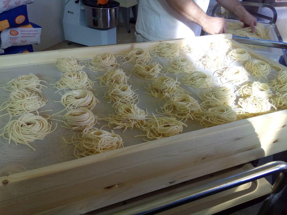 Pastificio del Golfo, Spaghetti arrotolati
