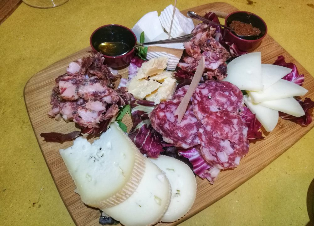 Piccerelle - Il tagliere di salumi e formaggi