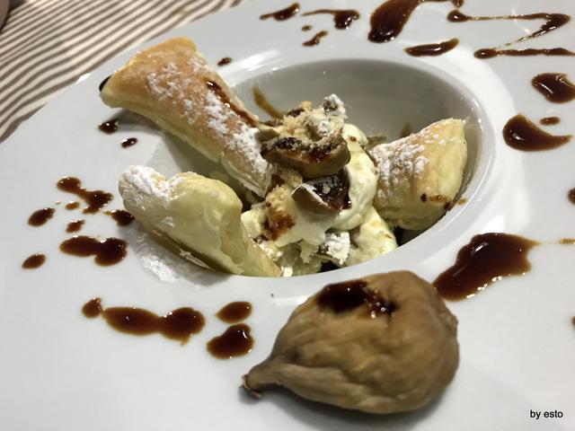 PizzaArt mille foglie alla crema con fico bianco cilentano