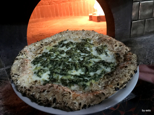 PizzaArt pizza cicoria e patate