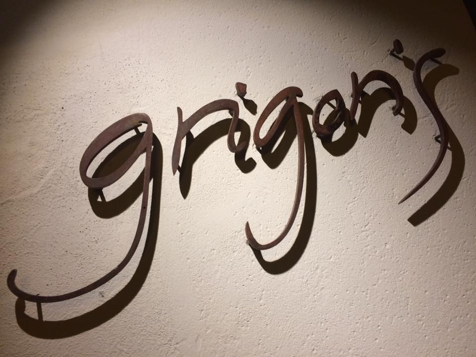 Pizzeria Grigoris, insegna