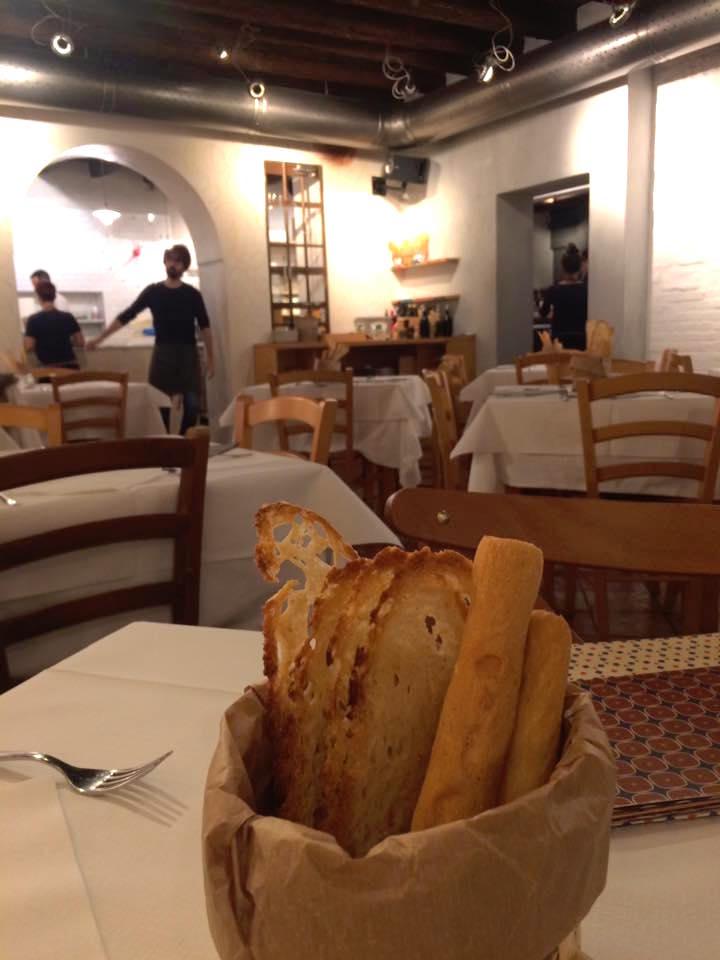 Pizzeria Grigoris, una delle sale