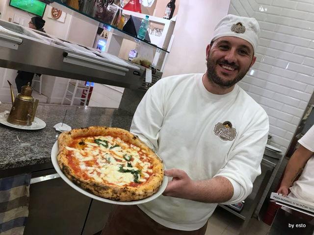 Pizzeria Oro Bianco Antonio Maraucci la margherita