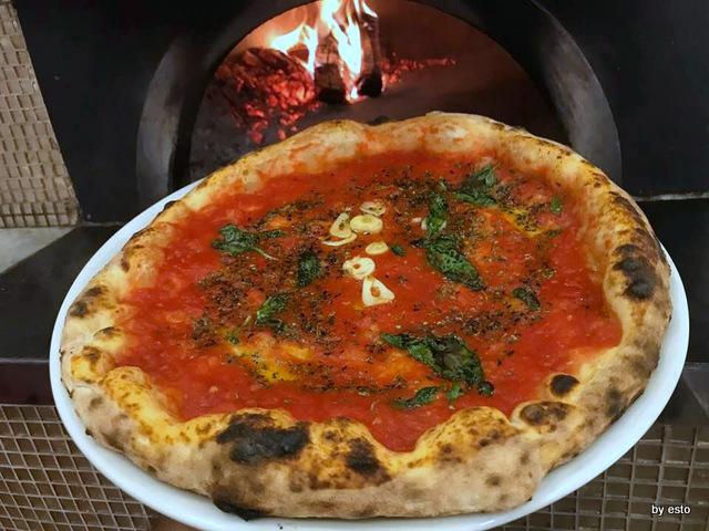 Pizzeria Oro Bianco Antonio Maraucci la marinara