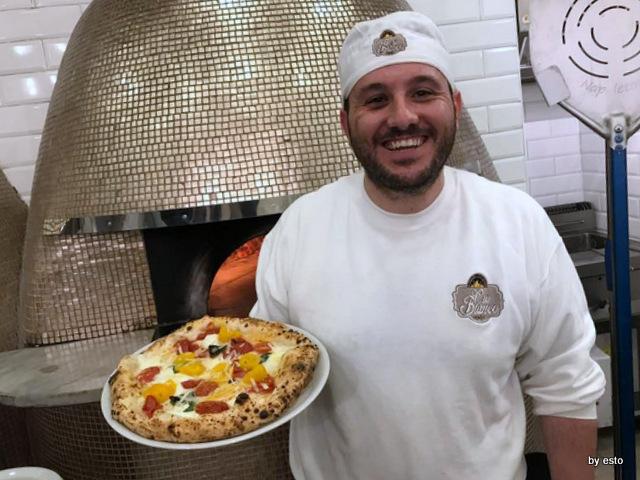 Pizzeria Oro Bianco Antonio Maraucci marinara ai due pomodori