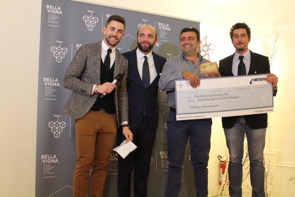 Premio Bella Vigna, innovazione