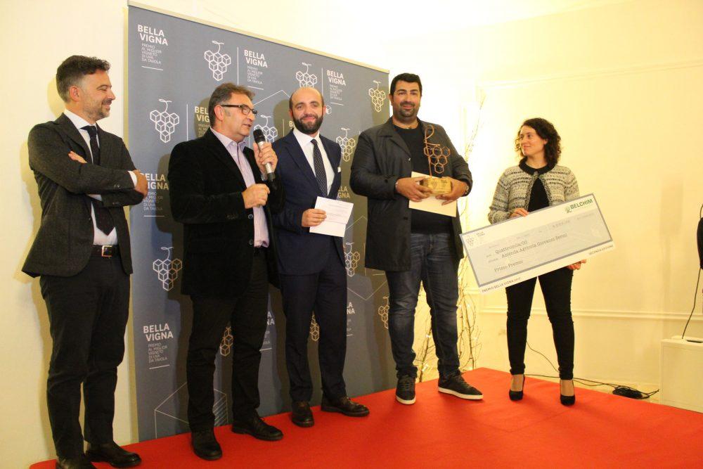 Premio Bella Vigna, primo premio