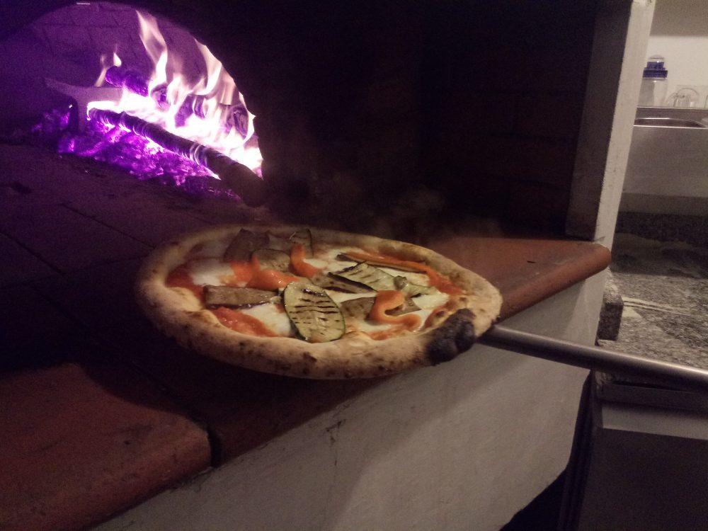 Ristorante Pizzeria Il Ghiottone, Pizza l'orto fresco